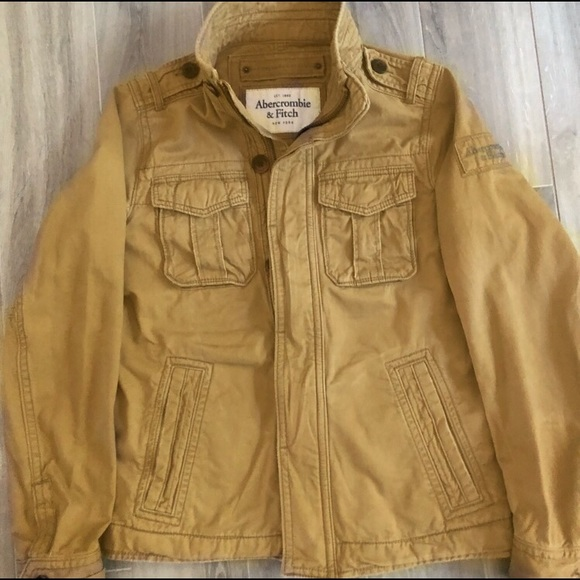 Abercrombie &Fitch Tan Jacket